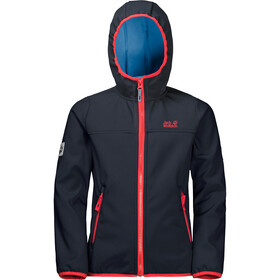 Jack Wolfskin Fourwinds Giacca ibrida Bambino, night blue